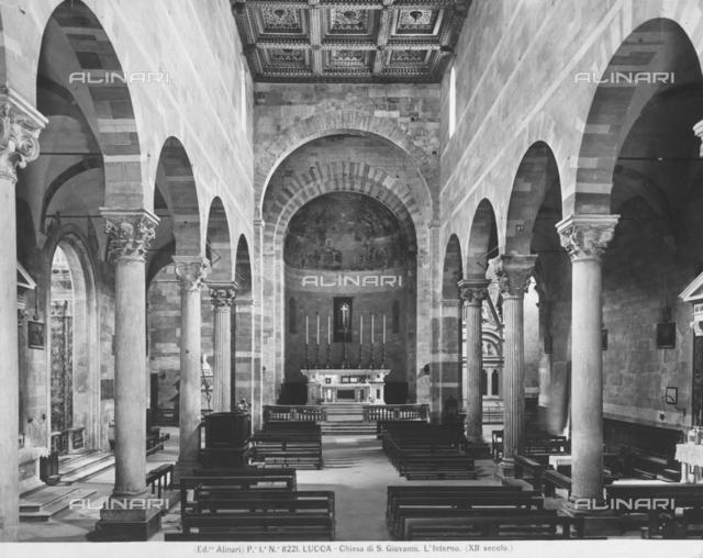 Church of San Giovanni, interior, Lucca
