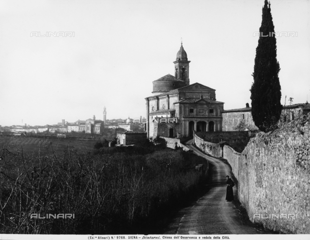 Church of the Osservanza, environs of Siena