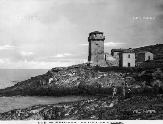 Calafuria Tower in Castiglioncello