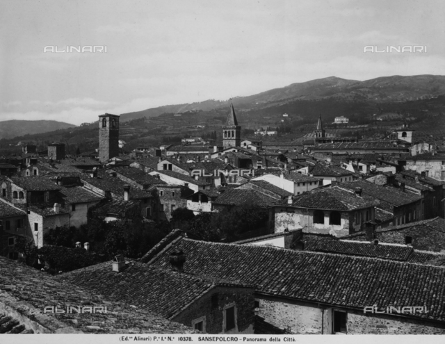 Panoramic view of Sansepolcro