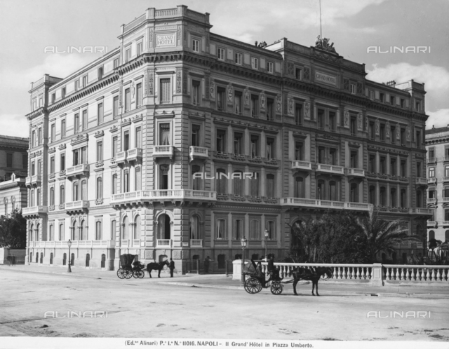 The Grand Hotel in Piazza Umberto I, Naples