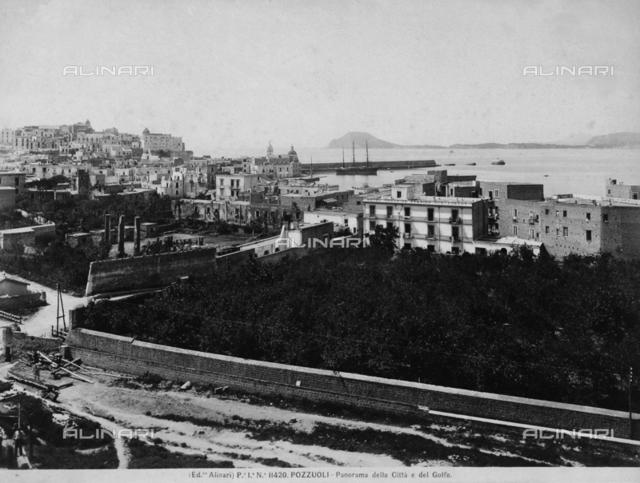 Panorama of Pozzuoli and its Gulf