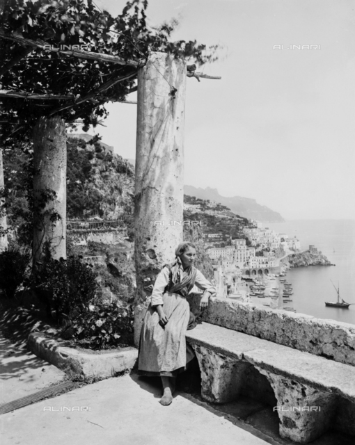 Amalfi. View by the Monastery of Cappuccini