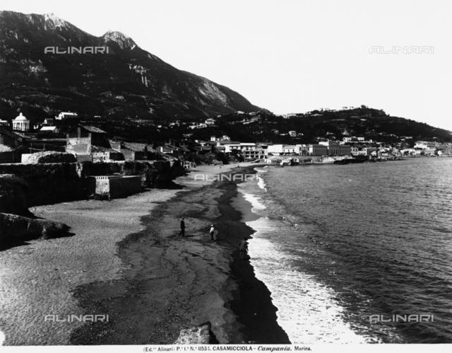Coastline of Casamicciola at Ischia