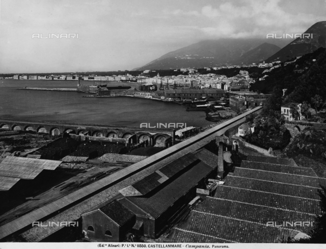 Panorama of the Gulf at Castellammare di Stabia