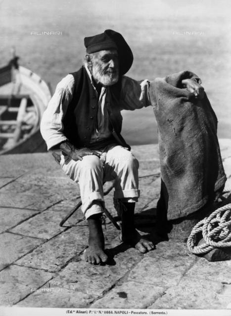 Sorrento. Fisherman