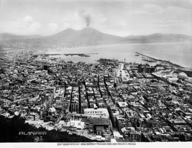 View of Naples from Certosa di San Martino