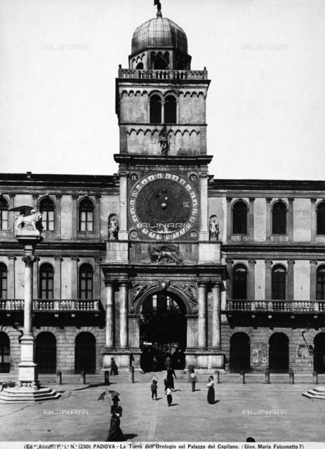 Clock Tower, Palazzo del Capitanio, Padua