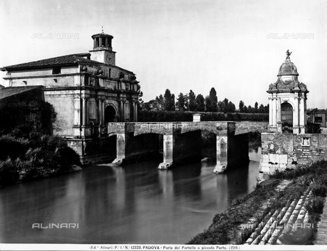 Porta del Portello, or the Small Gate Padua.