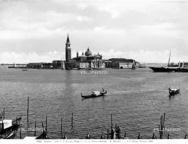 The island of San Giorgio Maggiore in Venice