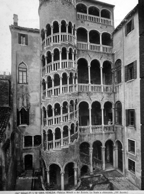 Palazzo Contarini or del Bovolo, elegant Renaissance building in Venice