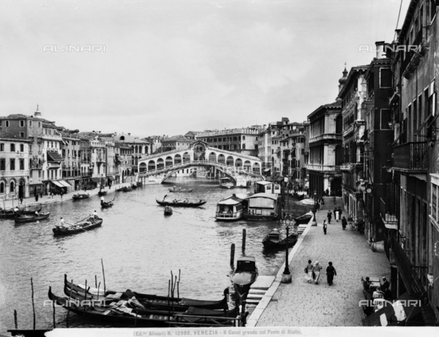 The Grand Canal and the Rialto Bridge