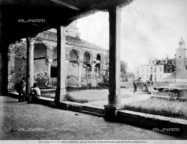 Portico, Church of Santa Fosca, Island of Torcello, Venice