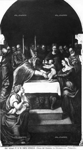 Circumcision, Church of the Carmini (Santa Maria del Carmelo), Venice