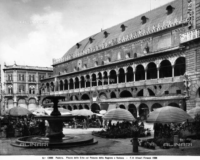 The Palazzo della Ragione, known as the Salone, Padua
