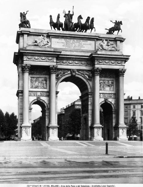 Arch of Peace, Sempione Park, Milan