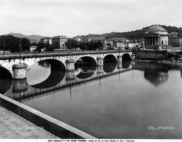 Vittorio Emanuele I bridge, Claude-Yves-Joseph La Ramée Pertinchamp e Charles Mallet, Turin