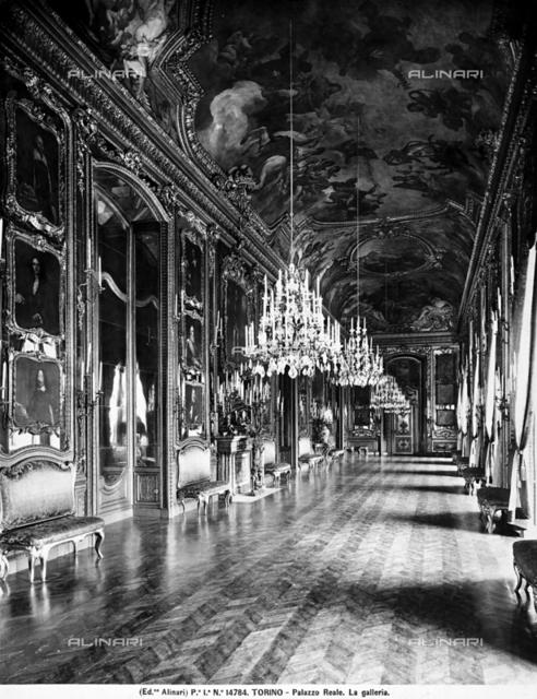 Gallery, Royal Palace, Turin