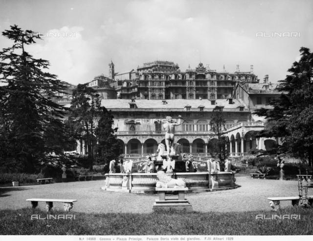 Palazzo Doria Pamphilj, Piazza del Principe, Genoa