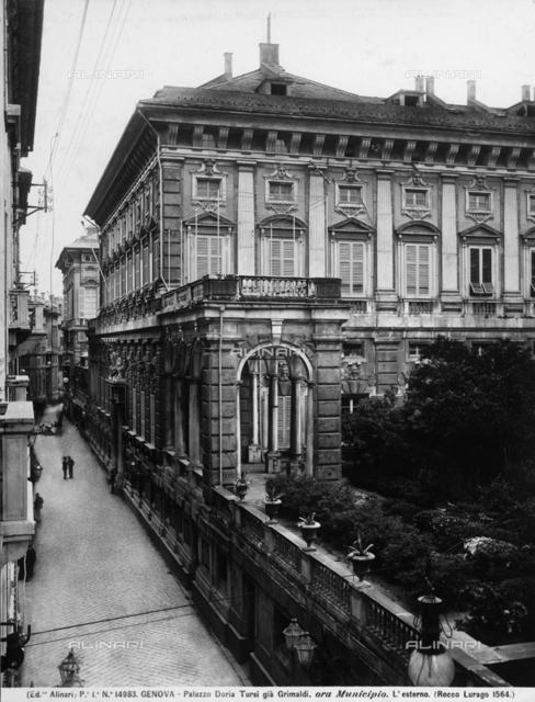 Palazzo Doria Tursi (Municipal Headquarters), Genoa