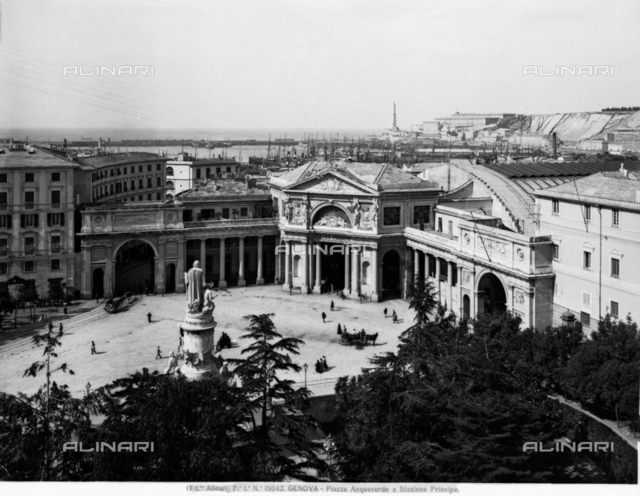Principe railway station, Genova