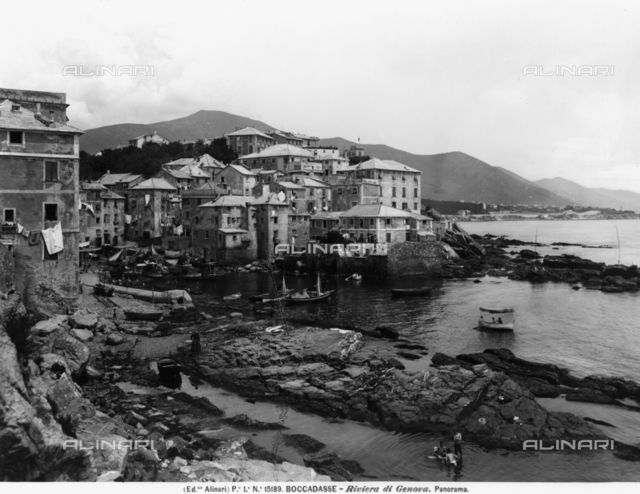 Suburb of Boccadasse