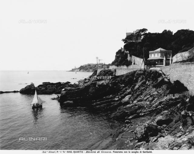 The bay of Quarto, Genoa