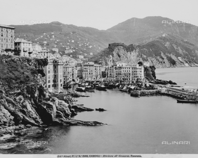 Panorama of Camogli