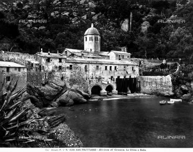 Abbey, St. Fruttuoso, Genoa.