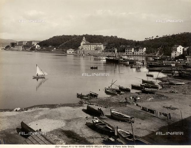 The port of Thanks, bay of La Spezia