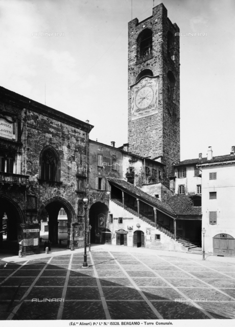 Civic Tower, Bergamo