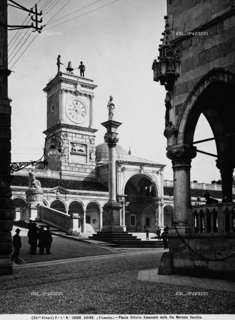 Portico, Piazza della Libertà, Udine