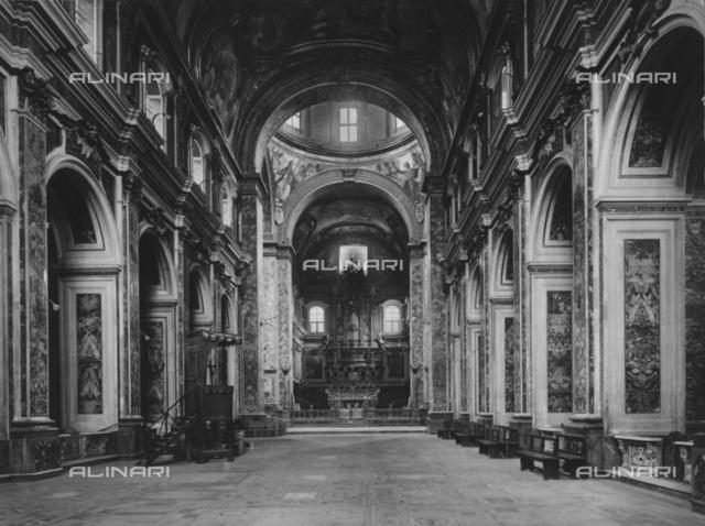 Nave, Church of SS.Severino e Sossio, Naples