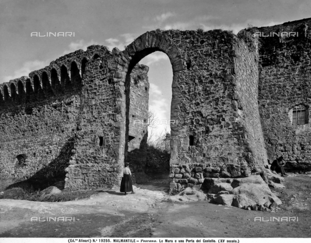 City walls, Malmantile, Lastra a Signa, Province of Florence