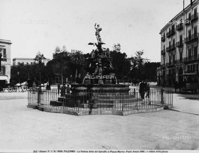 The Fontana del Garraffo, Gioacchino Vitalino, Palermo