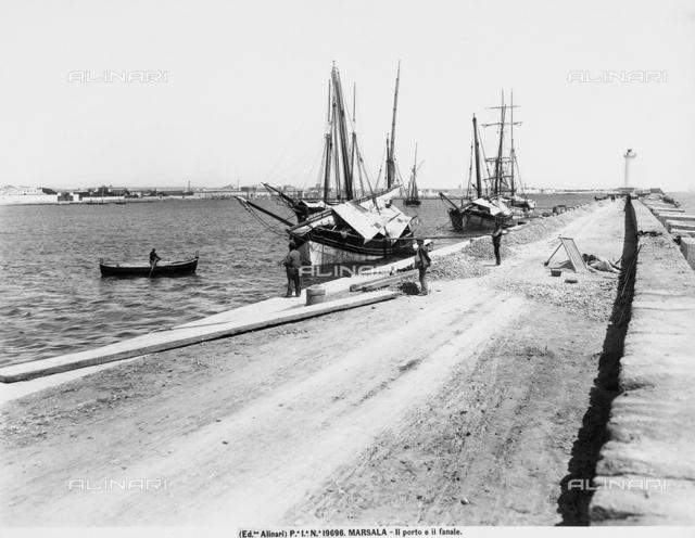 Port of Marsala.