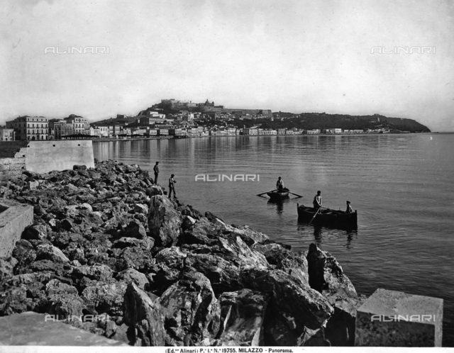 Panoramic view of Milazzo