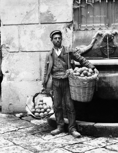 An orange vendor, Palermo