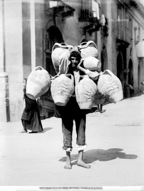 Quartara (12-liter jug) vendor