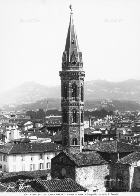 Bell tower, Badia Fiorentina, Florence