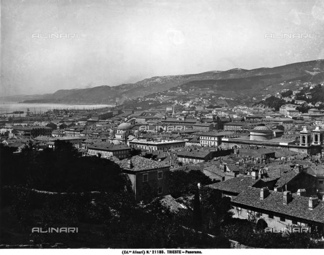 Panoramic view of Trieste