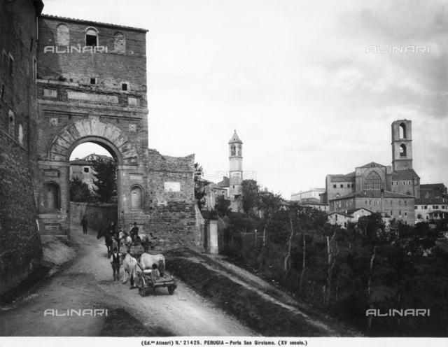 Porta San Girolamo, Perugia
