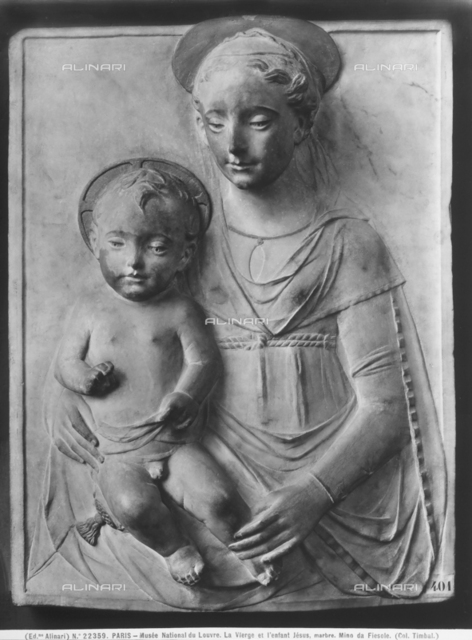 Madonna with Child, Louvre Museum, Paris