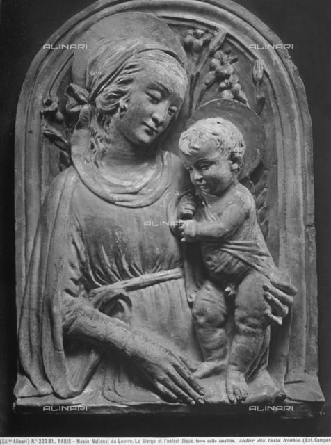 Madonna with Child, Louvre Museum, Paris