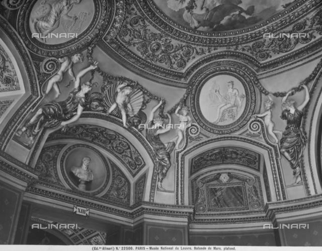 Ceiling of the Mars Rotonda, Louvre, Paris
