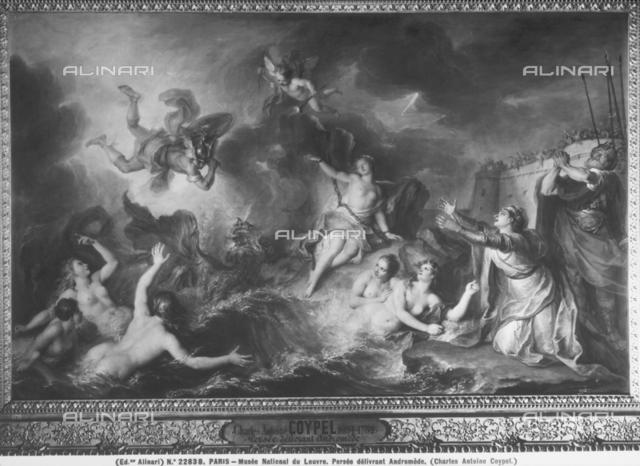 Perseus freeing Andromeda, Louvre Museum, Paris