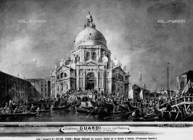 The arrival of the Doge to the Church of S. Maria della Salute, Venice, Louvre Museum, Paris.