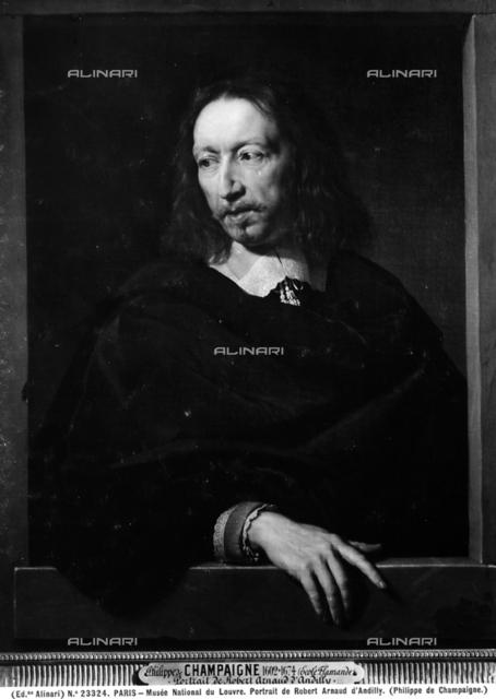 Portrait of Robert Arnauld d'Andilly, Louvre Museum, Paris.
