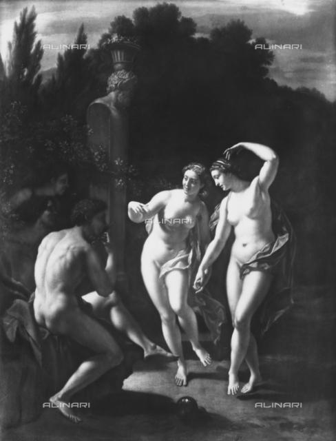 Dancing Nymphs, Louvre Museum, Paris