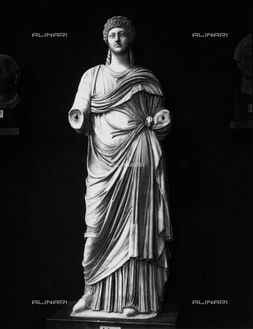 Statue of the empress Poppaea, Museum, Olympia